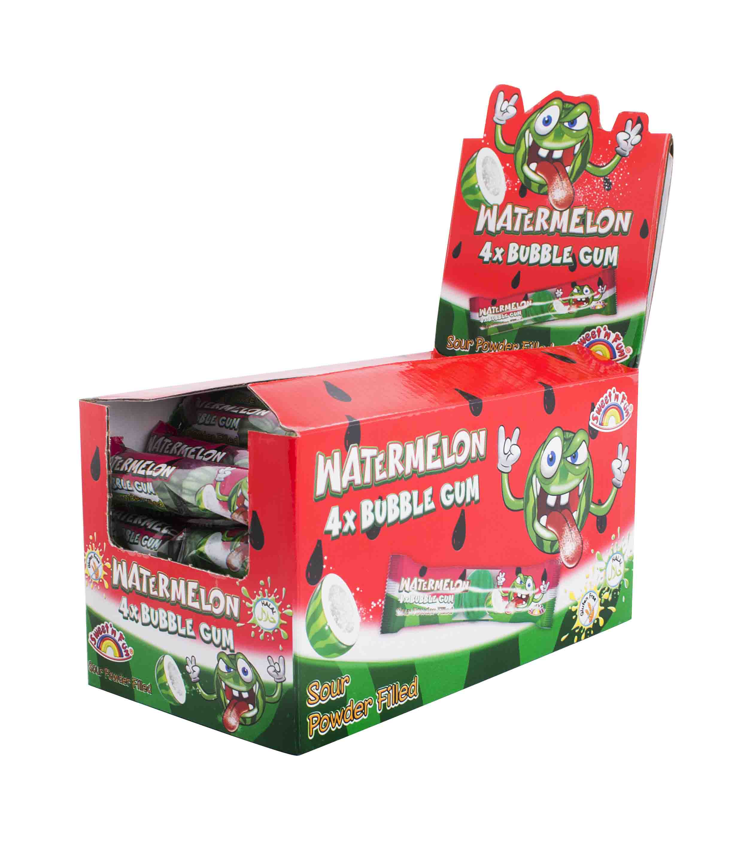 Watermelon bubble gum 4pack – žvýkačky 20g