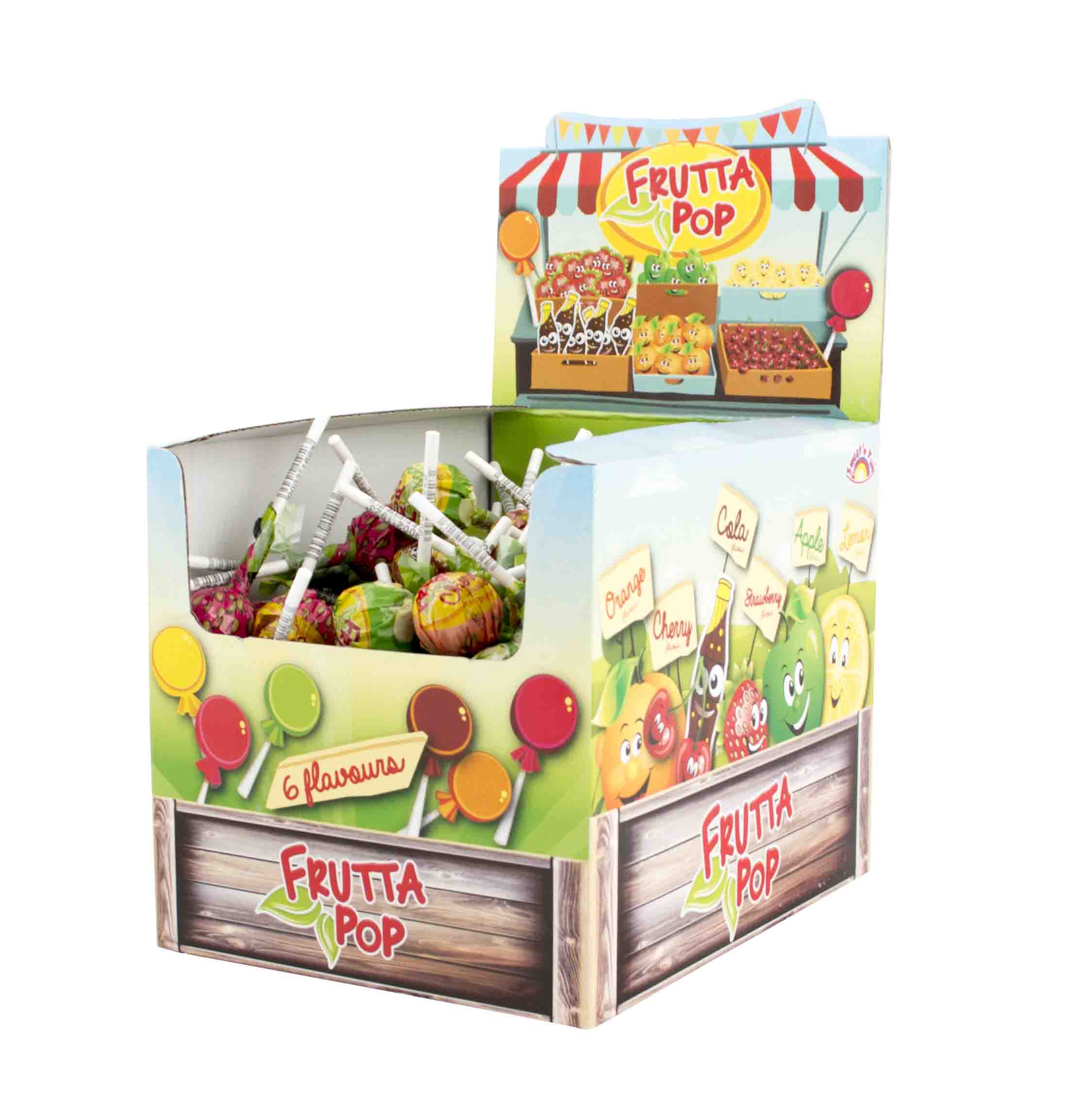 Frutta Pop - lízátko 10g box