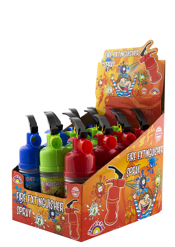 Extinguisher Spray Candy - kyselý sprej hasičák 50g