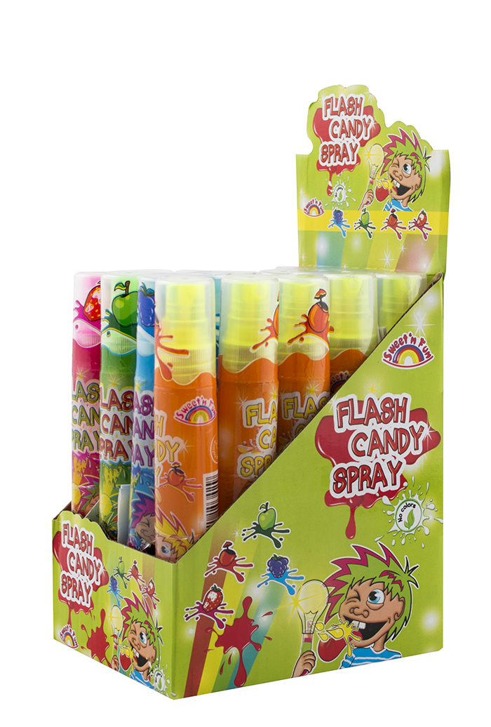 Flash Candy Spray Candy - svítící kyselý sprej 28g
