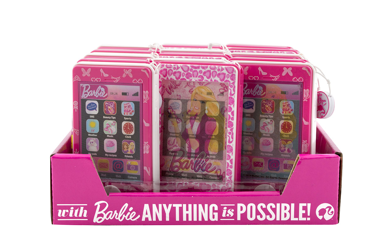 BARBIE Touch Phone - telefon s bonbónky
