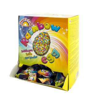 Rainbow Bubble Gum Egg 5 g