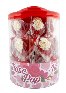 Rose Pop - lízátko růže 40g