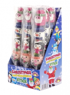 Christmas Marshmallow on stick – maršmelou 45g