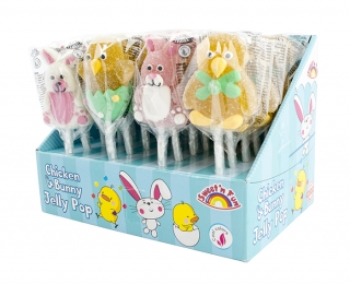 Chicken & Bunny Jelly Pop - želé lízátko 23g
