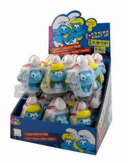 SMURFS Candy Candy Collection Head - šmoulí hlavy